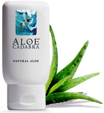 Aloe Cadabra Organic Lube Natural Aloe 2.5 Oz