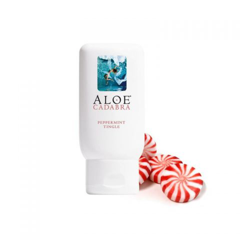 Aloe Cadabra Lube Peppermint 2.5 Oz