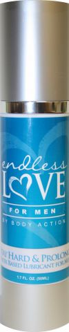 Endless Love for Men Stayhard & Prolong Lubricant 1.7 oz.