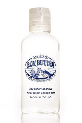 Boy Butter Lubricant Clear 4oz