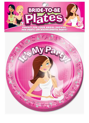Bride to Be Plates