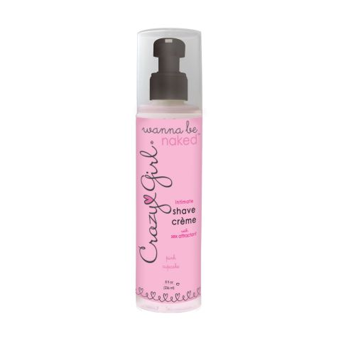 Crazy Girl Intimate Shave Creme Pink Cupcake