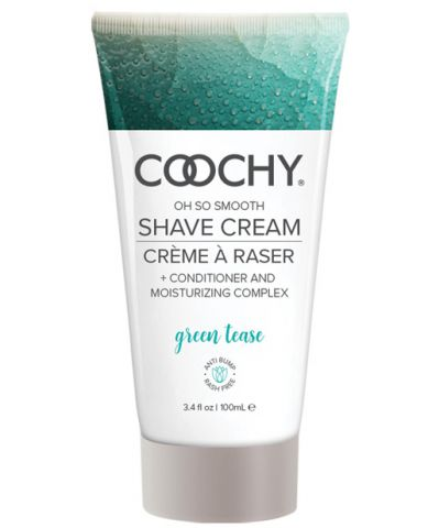 Coochy Shave Cream Green Tease 3.4 Oz