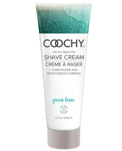 Coochy Shave Cream Green Tease 7.2 Oz