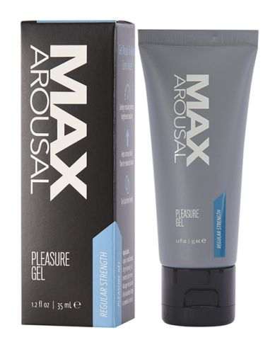 Max Arousal Pleasure Gel Regular Strength 1.2 Fl Oz