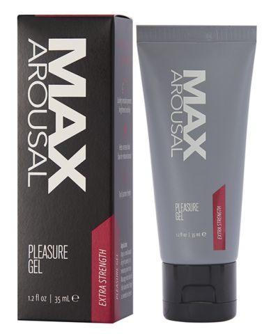 Max Arousal Pleasure Gel Extra Strength 1.2 Fl Oz