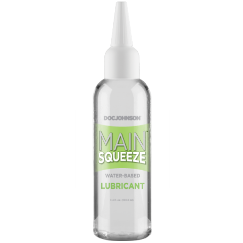 Main Squeeze Water Based Lubricant 3.4 Oz