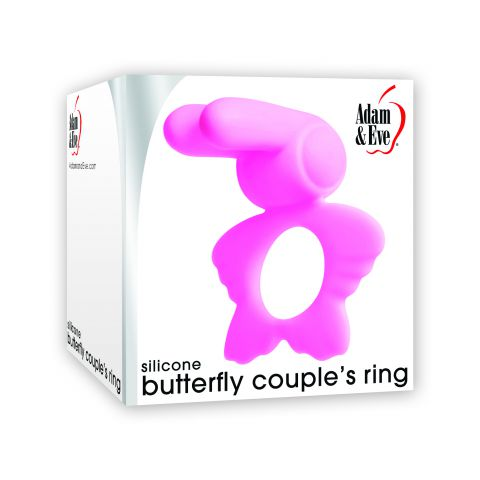 Adam & Eve Butterfly Couples Ring