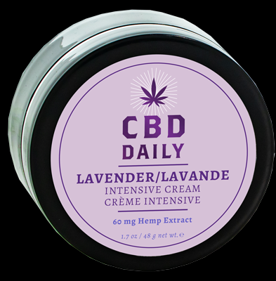 Cbd Daily Intensive Cream in Lavender 1.7 Oz