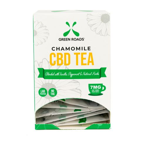 Cbd Chamomile Tea 20 Pc Dsp