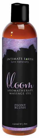 Intimate Earth Bloom Massage Oil 8oz