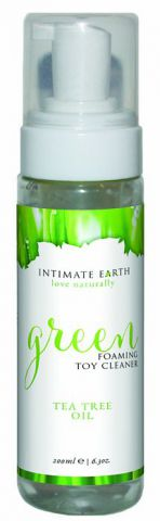 Intimate Earth Green Foaming Toy Cleaner 6.8 Oz