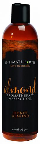 Intimate Earth Almond Massage Oil 4oz
