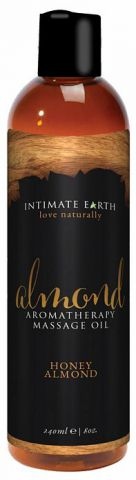 Intimate Earth Almond Massage Oil 8 Oz
