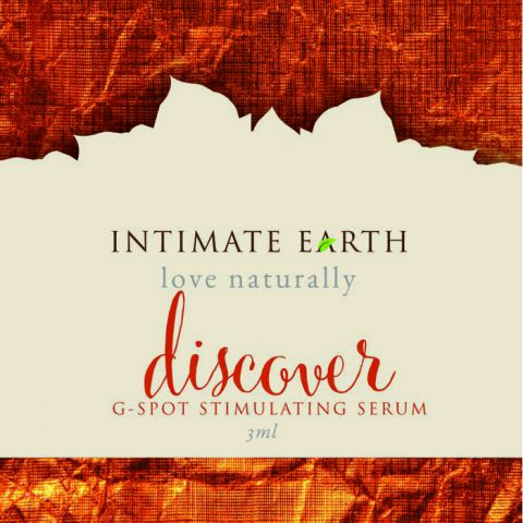 Intimate Earth Discover G Spot Gel Foil Pack