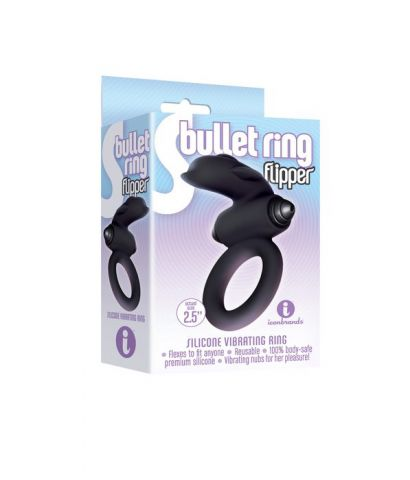 9s S-Bullet Ring Flipper Silicone