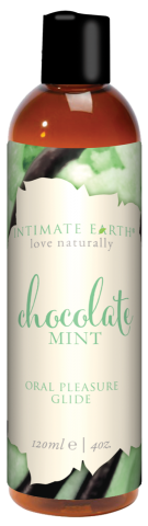Intimate Earth Chocolate Mint Glide 4 Oz