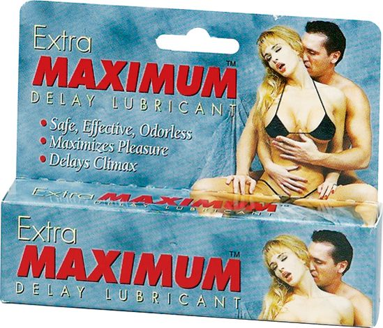 Extra Maximum Delay Lube Large 1.5oz