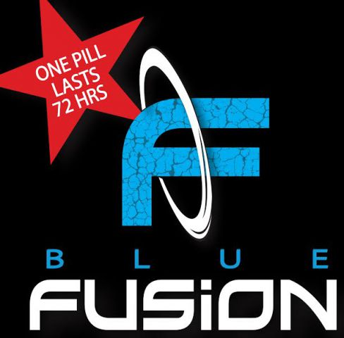 Blue Fusion for Men 1pc Card