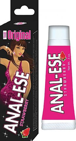 Anal Ese Strawberry .5 Oz Soft Packaging