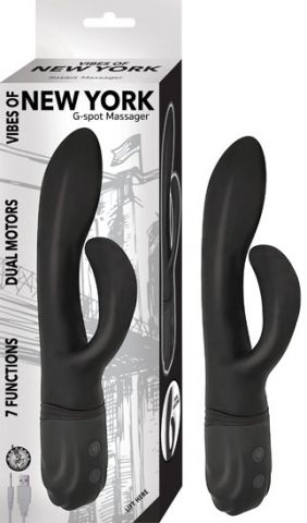 Vibes of New York G Spot Massager Black
