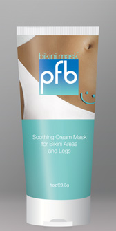 Pfb Bikini Soothing Cream 1 Oz