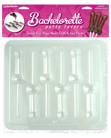 Bachelorette Pecker Lollipop Mold