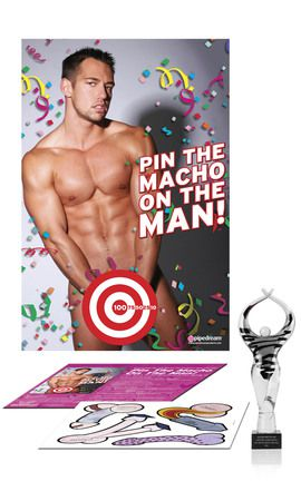 Bachelorette Pin the Macho on the Man[Ea]