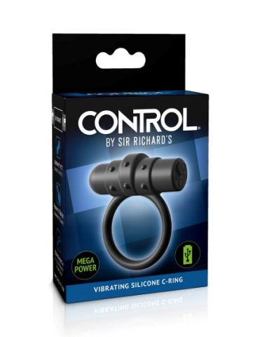 Sir Richard's Control Silicone Vibrating C Ring