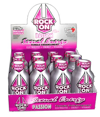 Rock on Passion 12pk Shot for Her