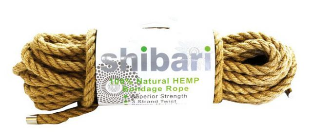 Shibari Natural Hemp Bondage Rope 10 Meters
