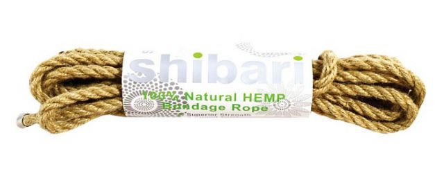 Shibari Natural Hemp Bondage Rope 5 Meters