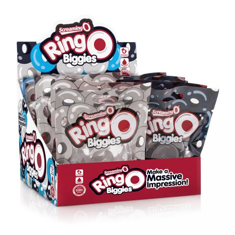 Screaming O Ring O Biggies in Pop Box Assorted