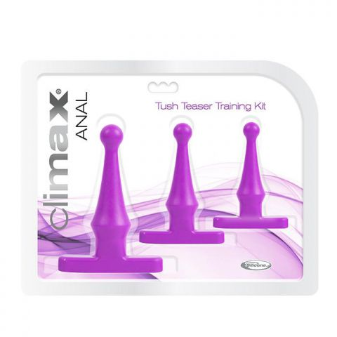 Climax Anal Tush Teaser Training Kit Deep Purple