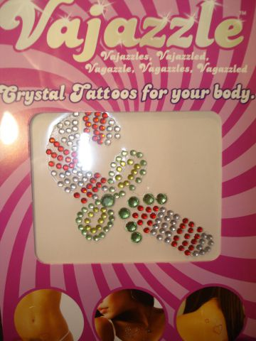 Vajazzles Candy Cane