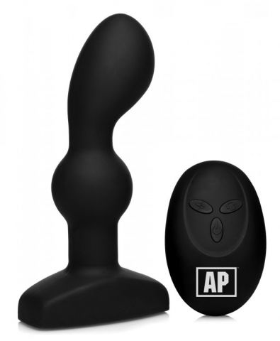 Alpha-Pro 7x P-Spin Prostate Pleaser w/ Rotating Beads